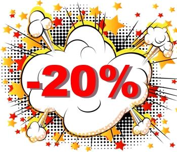 Скидка 20% на летнюю женскую обувь!