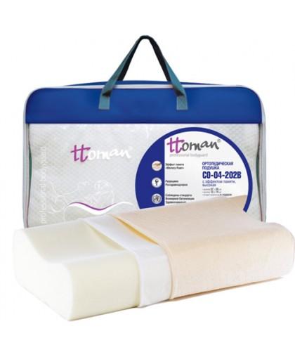 Подушка СО-04-202В ортопедическая под голову для взрослых