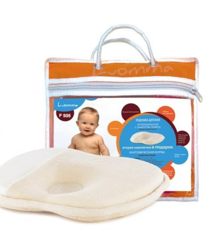 Подушка СО-01-Lum F-505 ортопедическая под голову для детей