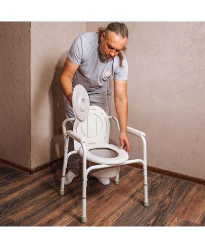 Кресло инвалидное Армед с санитарным оснащением ФС810