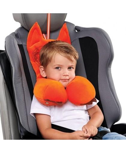 Подушка Autofox A302 дорожная с подголовником для детей от 2 до 4 лет